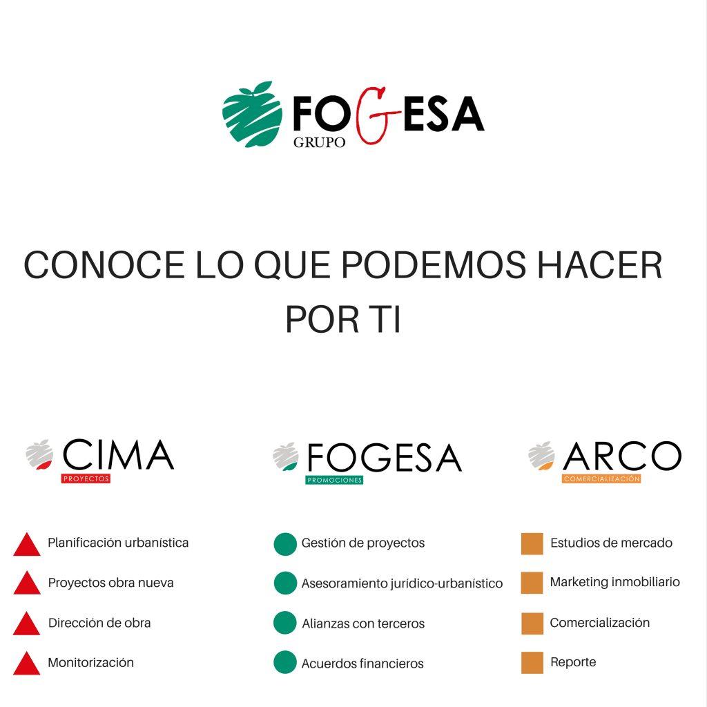 Bienvenid@s a la nueva web de GRUPO FOGESA